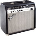 Musical Instruments:Amplifiers, PA, & Effects, 2000s Fender Princeton Recording Black Guitar Amplifier. ...