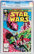 Modern Age (1980-Present):Science Fiction, Star Wars #59 (Marvel, 1982) CGC NM/MT 9.8 Off-white to whitepages....