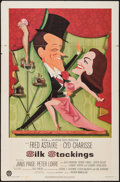 "Movie Posters:Musical, Silk Stockings (MGM, 1957). One Sheet (27"" X 41""). Musical.. ..."