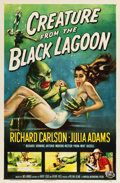 "Movie Posters:Horror, Creature from the Black Lagoon (Universal International, 1954). OneSheet (27"" X 41"").. ..."