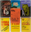 Books:Science Fiction & Fantasy, Ursula K. Le Guin. Lot of Seven Titles. New York and London:various dates. First edition titles: Earthsea (English);... (Total: 7 Items)