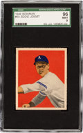 Baseball Cards:Singles (1940-1949), 1949 Bowman Eddie Joost #55 SGC 96 Mint 9 - Pop One, Highest SGC onRecord! ...