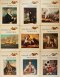 Books:Americana & American History, American Heritage. Nine Issues of American Heritage.1954-1968. Assorted issues, including the April 1968 issue ...(Total: 9 Items)