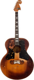 Musical Instruments:Acoustic Guitars, Circa 1949 Bigsby/Gibson J-200 Sunburst Acoustic Guitar. ...