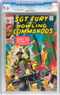 Bronze Age (1970-1979):War, Sgt. Fury and His Howling Commandos #92 Twin Cities pedigree (Marvel, 1971) CGC NM+ 9.6 White pages....