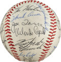 Autographs:Baseballs, 1963 National League All-Star Team Signed Baseball from The StanMusial Collection....
