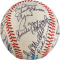 Autographs:Baseballs, 1987 Hall of Fame Induction Ceremony Signed Baseball from The StanMusial Collection....