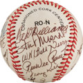 Autographs:Baseballs, 1988 Hall of Fame Induction Ceremony Signed Baseball from The StanMusial Collection....