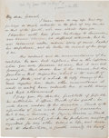 Autographs:U.S. Presidents, James K. Polk Endorsement Initialed...