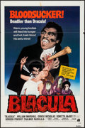 "Movie Posters:Blaxploitation, Blacula (American International, 1972). One Sheet (27"" X 41"") &Photos (9) (8"" X 10""). Blaxploitation.. ... (Total: 10 Items)"