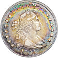 Early Quarters, 1804 25C AU55 ★ NGC. CAC. B-1, R.3....