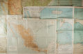 Books:Maps & Atlases, [Maps]. Group of Five Early and Mid 20th Century Color Maps. Various sizes. Generally good or better....