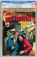 Golden Age (1938-1955):Horror, Adventures Into The Unknown #25 (ACG, 1951) CGC VF 8.0 Cream tooff-white pages....