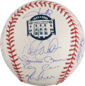 Autographs:Baseballs, 2008 New York Yankees Team Signed Baseball....