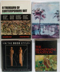 Books:Art & Architecture, [Art Reference]. Lot of Four Modern Art Reference Books. Various publishers, dates, editions. Publisher's bindings, jackets.... (Total: 4 Items)