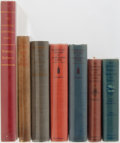 Books:Americana & American History, [American History]. Lot of Five Titles in Seven Volumes of AmericanHistory. Various publishers, dates, editions. Two duplic... (Total:7 Items)