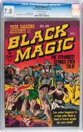 Golden Age (1938-1955):Horror, Black Magic #2 (Prize, 1950) CGC FN/VF 7.0 Off-white pages....