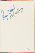 Autographs:Others, 1985 Roger Maris & Ralph Terry Signed Book....
