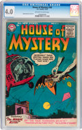 Silver Age (1956-1969):Horror, House of Mystery #45, 143, and 164 CGC-Graded Group (DC,1955-67).... (Total: 3 Comic Books)