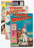 Golden Age (1938-1955):Science Fiction, Strange Adventures Group (DC, 1954-58) Condition: Average GD/VG....(Total: 29 Comic Books)