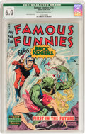 Golden Age (1938-1955):Science Fiction, Famous Funnies #210 (Eastern Color, 1954) CGC Qualified FN 6.0Cream to off-white pages....