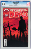 Modern Age (1980-Present):Horror, Walking Dead #6 (Image, 2004) CGC NM 9.4 White pages....
