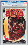 Modern Age (1980-Present):Horror, Walking Dead #27 (Image, 2006) CGC NM/MT 9.8 White pages....