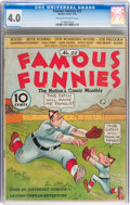 Platinum Age (1897-1937):Miscellaneous, Famous Funnies #22 (Eastern Color, 1936) CGC VG 4.0 Off-white towhite pages....
