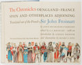 Books:Fine Press & Book Arts, [Limited Editions Club]. Sir John Froissart. SIGNED/LIMITED. TheChronicles... New York: LEC, 1959. One of 1,5...