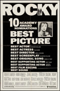 """Movie Posters:Academy Award Winners, Rocky & Other Lot (United Artists, 1977). One Sheets (2) (27"""" X 41"""") Academy Award Nomination & Regular Style. Sports.. ... (Total: 2 Items)"""