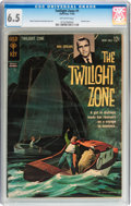 Silver Age (1956-1969):Horror, Twilight Zone #1 (Gold Key, 1962) CGC FN+ 6.5 Off-white pages....