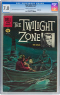 Silver Age (1956-1969):Adventure, Four Color #1173 The Twilight Zone (Dell, 1961) CGC FN/VF 7.0 Cream to off-white pages....