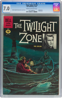 Four Color #1173 The Twilight Zone (Dell, 1961) CGC FN/VF 7.0 Cream to off-white pages