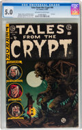 Golden Age (1938-1955):Horror, Tales From the Crypt #46 (EC, 1955) CGC VG/FN 5.0 Off-white towhite pages....