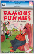 Platinum Age (1897-1937):Miscellaneous, Famous Funnies #24 (Eastern Color, 1936) CGC FN 6.0 Off-white towhite pages....