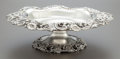 Silver Holloware, American:Center Pieces, A GORHAM SILVER FOOTED CENTER BOWL. Gorham Manufacturing Co.,Providence, Rhode Island, circa 1900. Marks: (lion-anchor-G), ...