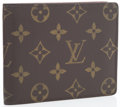 Luxury Accessories:Accessories, Louis Vuitton Classic Monogram Canvas Bifold Wallet. ...