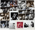 Baseball Collectibles:Photos, Stan Musial Signed Original Oversized Photographs Lot of 16....