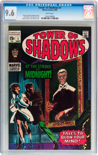 Tower of Shadows #1 (Marvel, 1969) CGC NM+ 9.6 White pages