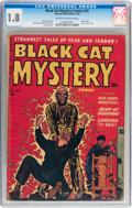 Golden Age (1938-1955):Horror, Black Cat Mystery #33 (Harvey, 1952) CGC GD- 1.8 Cream to off-whitepages....