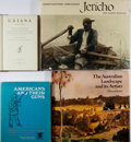 Books:Americana & American History, Lot of Four Assorted Books. Various publishers, dates, editions.Generally good. Photo books, book on guns, Howes U.S. ian...(Total: 4 Items)