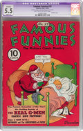 Platinum Age (1897-1937):Miscellaneous, Famous Funnies #29 (Eastern Color, 1936) CGC Apparent FN- 5.5Slight (A) Light tan to off-white pages....
