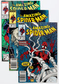 Modern Age (1980-Present):Superhero, The Amazing Spider-Man Related Group (Marvel, 1980s-90s) Condition:Average NM-.... (Total: 47 Comic Books)
