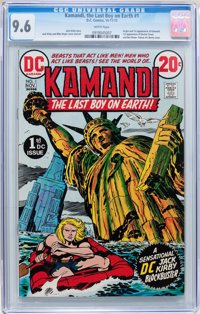Kamandi, the Last Boy on Earth #1 (DC, 1972) CGC NM+ 9.6 White pages
