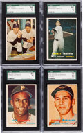 Baseball Cards:Sets, 1957 Topps Baseball Complete Set (407). ...