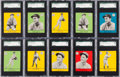 Baseball Cards:Lots, 1941 Goudey Baseball Graded Collection (21) With Two Mel Ott Cards....