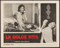 """Movie Posters:Foreign, La Dolce Vita (Astor, 1961). Lobby Card (11"""" X 14""""). Foreign.. ..."""