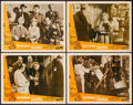 """Movie Posters:Comedy, The Ladykillers (Rank, 1955). Lobby Card Set of 4 (11"""" X 14"""").Comedy.. ... (Total: 4 Items)"""