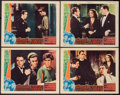 "Movie Posters:Crime, Angels with Dirty Faces (Warner Brothers, 1938). Other CompanyLobby Cards (4) (11"" X 14""). Crime.. ... (Total: 4 Items)"