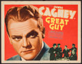 """Movie Posters:Drama, Great Guy (Grand National, 1936). Title Lobby Card (11"""" X 14""""). Drama.. ..."""